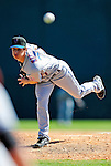 6 March 2010: New York Mets' pitcher Eric Niesen in action during a Spring Training game against the Washington Nationals at Space Coast Stadium in Viera, Florida. The Mets defeated the Nationals 14-6 in Grapefruit League action. Mandatory Credit: Ed Wolfstein Photo