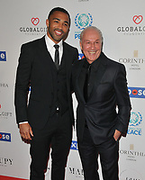 Callum Wilson and Jeff Mostyn at the Football For Peace Initiative Dinner by Global Gift Foundation, Corinthia Hotel, Whitehall Place, London, England, UK, on Monday 08th April 2019.<br /> CAP/CAN<br /> ©CAN/Capital Pictures