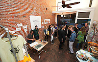 Opening Reception for the Oxy Street Art Project, April 18, 2011.<br />