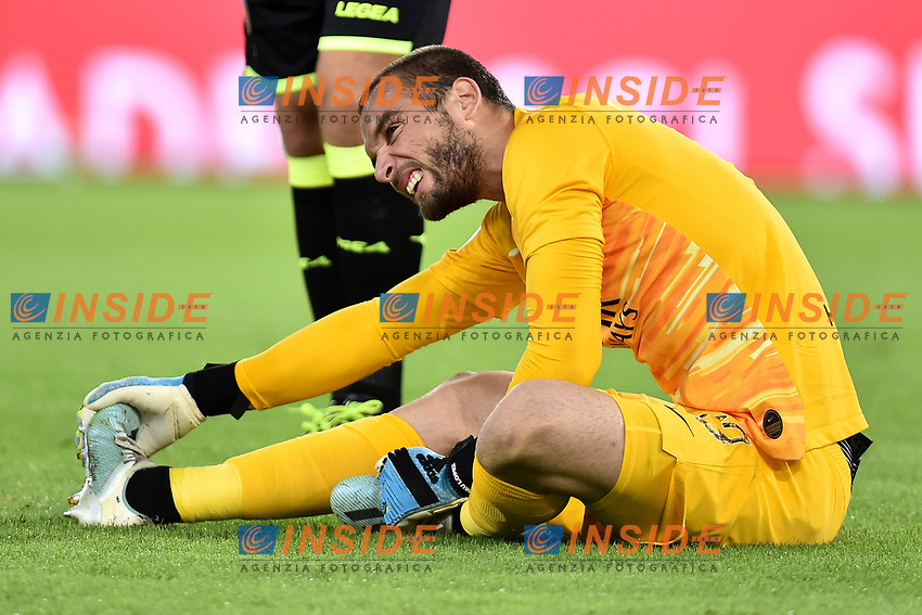 Pau Lopez of AS Roma <br /> Roma 25-9-2019 Stadio Olimpico <br /> Football Serie A 2019/2020 <br /> AS Roma - Atalanta Bergamasca Calcio <br /> Foto Andrea Staccioli / Insidefoto