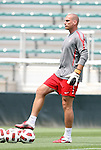 17 May 2011: Goalkeeping coach Paul Rogers. The United States Women's National Team held a training session at WakeMed Stadium in Cary, North Carolina as part of their preparations for the 2011 Women's World Cup.