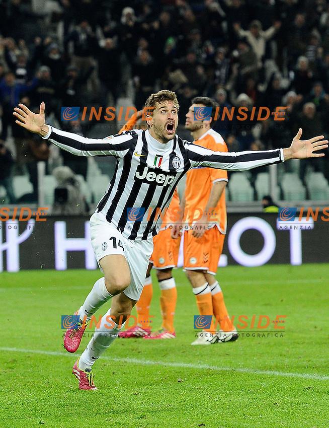 esultanza gol Fernando Llorente Juventus, Goal Celebration - Torino 01-12-2013 Juventus Stadium - Football Calcio 2013/2014 Serie A  - Juventus - Udinese - Foto Daniele Buffa / Imagesport / Insidefoto