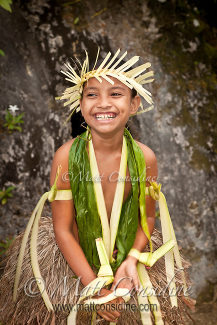 The traditional dances in Yap have no schedule and occur only when the people themselves decide to have a dance.  The Yap dancers are the most skilled and authentic Pacific dancers I have seen. The dancers include people of all ages, and everyone has a lot of fun, Yap Micronesia. (Photo by Matt Considine - Images of Asia Collection)