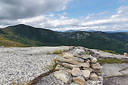 View from along the Baldface Circle Trail during the summer months in the White Mountains, New Hampshire.