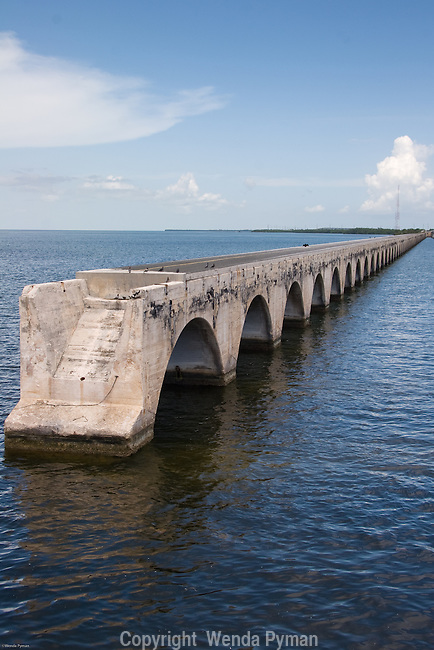 Remnants of the Old Flagler Bridge.