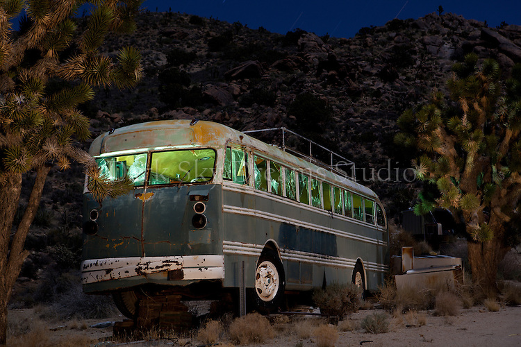 Abandoned Bus Near Cima #1