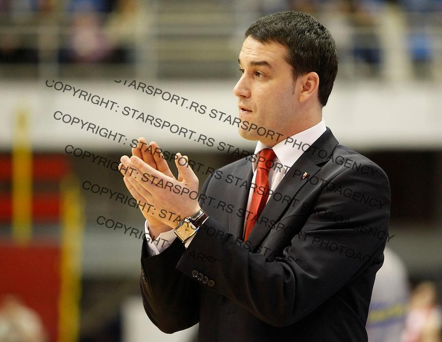 Kosarka, NLB League, sezona 2009/2010.Crvena Zvezda Vs. FMP (Zeleznik).Oliver Kostic.Belgrade, 09.01.2010..foto: Srdjan Stevanovic/Starsportphoto ©