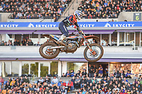 Dakota Alix (USA)<br /> 2018 SX Open - Auckland / SX 2<br /> FIM Oceania Supercross Championships<br /> Mt Smart Stadium / Auckland NZ<br /> Saturday Nov 24th 2018<br /> © Sport the library/ Jeff Crow / AME