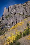 Canyon Wall along Yankee Boy Road, Colorado
