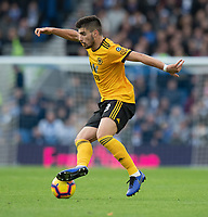 Wolverhampton Wanderers' Ruben Neves<br /> <br /> Photographer David Horton/CameraSport<br /> <br /> The Premier League - Brighton and Hove Albion v Wolverhampton Wanderers - Saturday 27th October 2018 - The Amex Stadium - Brighton<br /> <br /> World Copyright &copy; 2018 CameraSport. All rights reserved. 43 Linden Ave. Countesthorpe. Leicester. England. LE8 5PG - Tel: +44 (0) 116 277 4147 - admin@camerasport.com - www.camerasport.com