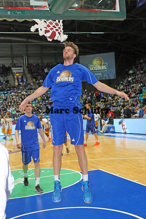 Dominik Barthel (Skyliners) - Fraport Skyliners vs. Rasta Vechta, Fraport Arena Frankfurt