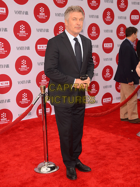 10 April 2014 - Hollywood, California - Alec Baldwin. Arrivals for the world premiere of the restoration of &quot;Oklahoma&quot; held at the TCL Chinese Theatre IMAX in Hollywood, Ca.  <br /> CAP/ADM/BT<br /> &copy;Birdie Thompson/AdMedia/Capital Pictures