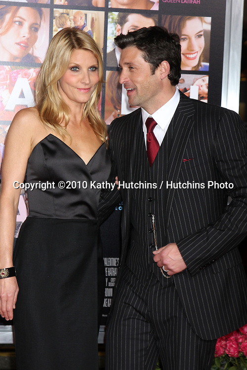 Patrick Dempsey.arrivng at the Valentine's Day World Premiere.Grauman's Chinese Theater.Los Angeles, CA.February 8, 2010.©2010 Kathy Hutchins / Hutchins Photo....