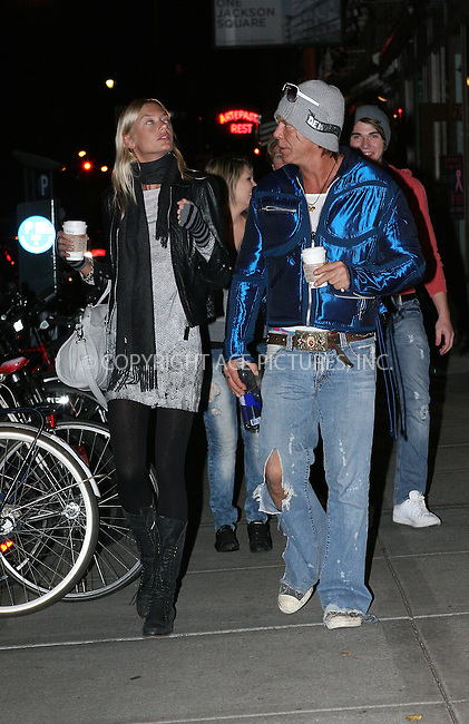 WWW.ACEPIXS.COM . . . . .  ....October 26 2009, New York City....Actor Mickey Rourke and his girlfriend Cheyenne Tozzi out in Manhattan on October 26 2009 in New York City....Please byline: NANCY RIVERA- ACE PICTURES.... *** ***..Ace Pictures, Inc:  ..tel: (212) 243 8787 or (646) 769 0430..e-mail: info@acepixs.com..web: http://www.acepixs.com