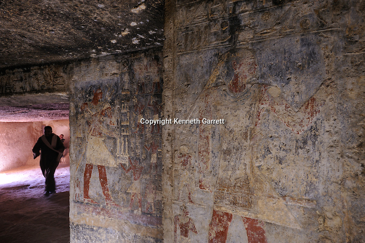 Zahi Hawass Secret Egypt Travel Guide; Egypt; archaeology; Asyut; Meir; Tombs; Ni Ankh Pepi Kem; Pepi-Ankh, Old Kingdom