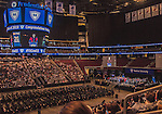 17 May 2015: Images of Shana Wolfstein with friends and family attending the 84th Yeshiva University Commencement at the Prudential Center in Newark, New Jersey. Ed Wolfstein Photo *** RAW (NEF) Image File Available ***