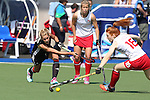 Glasgow 2014 Commonwealth Games<br /> Wales v England<br /> Glasgow National Hockey Centre<br /> <br /> 24.07.14<br /> &copy;Steve Pope-SPORTINGWALES