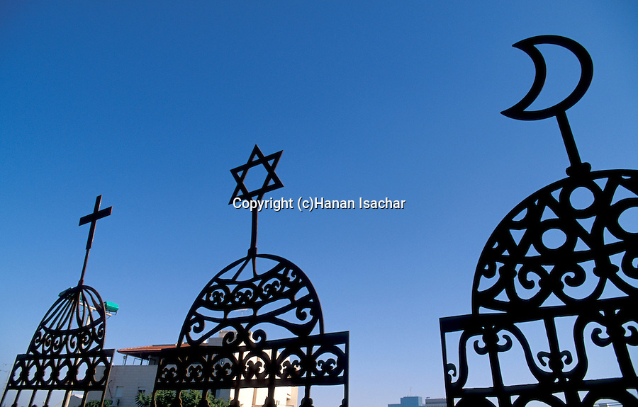 "Israel, Haifa. The Three Holidays Festival in Wadi Nisnas, Orna Lutski's ""House of Prayer"""