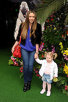 Michelle Heaton and daughter<br /> arives for the &quot;Rio 2&quot; Screening at the Vue cinema Leicester Square, London. 30/03/2014 Picture by: Steve Vas / Featureflash