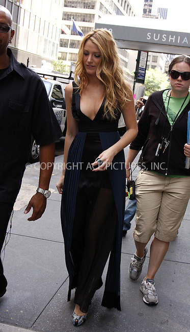 WWW.ACEPIXS.COM . . . . .  ....September 17 2008, New York City....Actress Blake Lively on the set of the TV show 'Gossip Girl' in midtown Manhattan on September 17 2008 in New York City....Please byline: AJ Sokalner - ACEPIXS.COM..... *** ***..Ace Pictures, Inc:  ..te: (646) 769 0430..e-mail: info@acepixs.com..web: http://www.acepixs.com