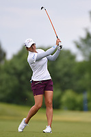 Marina Alex (USA) hits her approach shot on 10 during the round 1 of the KPMG Women's PGA Championship, Hazeltine National, Chaska, Minnesota, USA. 6/20/2019.<br /> Picture: Golffile | Ken Murray<br /> <br /> <br /> All photo usage must carry mandatory copyright credit (© Golffile | Ken Murray)