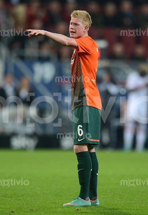 FUSSBALL   1. BUNDESLIGA  SAISON 2012/2013   7. Spieltag FC Augsburg - Werder Bremen          05.10.2012 Kevin De Bruyne (SV Werder Bremen)