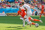 Arjen Robben (NED), JUNE 23, 2014 - Football / Soccer : FIFA World Cup Brazil 2014 Group B match between Netherlands 2-0 Chile at Arena de Sao Paulo Stadium in Sao Paulo, Brazil. (Photo by Maurizio Borsari/AFLO)