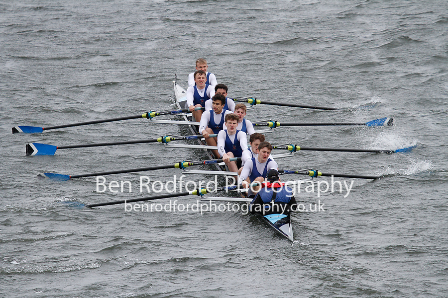 Crew: 22  Dulwich Coll  Event: School 1st eights<br /> <br /> Schools' Head of the River 2017<br /> <br /> To purchase this photo, or to see pricing information for Prints and Downloads, click the blue 'Add to Cart' button at the top-right of the page.