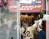 - The Boston College Eagles defeated the visiting University of Maine Black Bears 10-0 on Saturday, December 1, 2012, at Kelley Rink in Conte Forum in Chestnut Hill, Massachusetts.