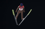Kamil Stoch (POL). Mens normal hill individual. Qualification. Ski jumping. Alpensia ski jump centre. Pyeongchang2018 winter Olympics. Alpensia. Pyeongchang. Republic of Korea. 08/02/2018. ~ MANDATORY CREDIT Garry Bowden/SIPPA - NO UNAUTHORISED USE - +44 7837 394578