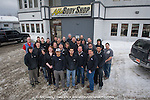 Group photo of Able Body Shop staff.