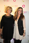 "Joan Lunden and daughter Lindsay at QVC presents ""FFANY SHOES ON SALE"" at Frederick P. Rose Hall, Home of Jazz at Lincoln Center on October 13, 2010 in New York City, New York. (Photo By Sue Coflin/Max Photos)"