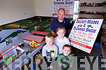 Sean Healy from Ballyduff, pictured with his children Rebecca (10) and Ryan (7) and nephew Odhran McDermott (5), is organising a charity Diecast Model and Diorama day on August 10th.