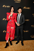 LOS ANGELES - AUG 13:  D'Arcy Carden, Manny Jacinto at the NBC And Universal EMMY Nominee Celebration at the Tesse Restaurant on August 13, 2019 in West Hollywood, CA
