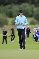 Victor Perez (FRA) on the 3rd green during Sunday's Final Round of the Northern Ireland Open 2018 presented by Modest Golf held at Galgorm Castle Golf Club, Ballymena, Northern Ireland. 19th August 2018.<br /> Picture: Eoin Clarke | Golffile<br /> <br /> <br /> All photos usage must carry mandatory copyright credit (&copy; Golffile | Eoin Clarke)