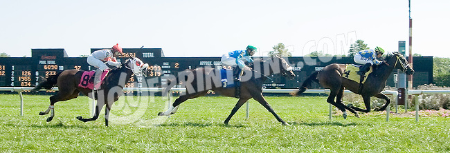 Jolena Jo winning at Delaware Park on 9/12/12