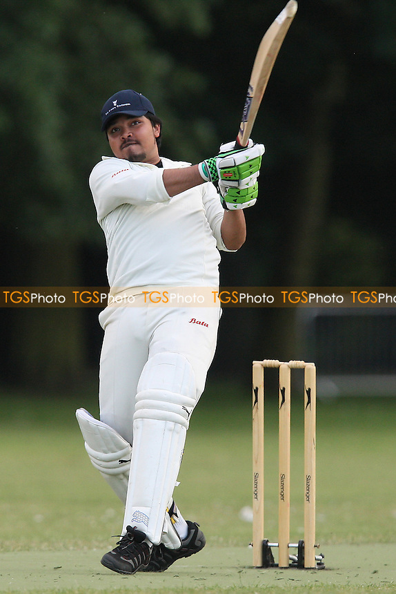 Old Fallopians CC (fielding) vs London Tigers CC - Victoria Park Community Cricket League - 21/06/10 - MANDATORY CREDIT: Gavin Ellis/TGSPHOTO - Self billing applies where appropriate - Tel: 0845 094 6026