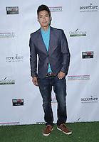 23 February 2017 - Santa Monica, California - Christopher Naoki Lee.  2017 Oscar Wilde Awards held at Bad Robot. Photo Credit: Birdie Thompson/AdMedia