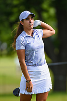 Maria Fassi (MEX) watches her tee shot on 12 during the round 1 of the KPMG Women's PGA Championship, Hazeltine National, Chaska, Minnesota, USA. 6/20/2019.<br /> Picture: Golffile | Ken Murray<br /> <br /> <br /> All photo usage must carry mandatory copyright credit (© Golffile | Ken Murray)
