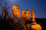 Fantastic collection of hoodoos located in the Devil's Garden Outstanding Scenic Area of the Escalante-Grand Staircase National Monument, Utah