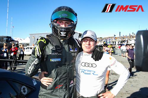 #61 Roadshagger Racing by eEuroparts.com Audi RS3 LMS TCR DSG, TCR: Gavin Ernstone, Jon Morley, Celebration