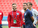 England's Callum Chambers during the UEFA Under 21 Semi Final at the Stadion Miejski Tychy in Tychy. Picture date 27th June 2017. Picture credit should read: David Klein/Sportimage