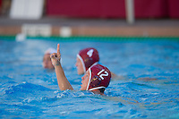 STANFORD, CA - October 9, 2010: Travis Noll during a water polo game against USC in Stanford, California. Stanford beat USC 5-3.