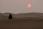 Tenger desert at Ningxia province in China