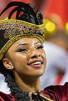 SÃO PAULO, SP, 09.03.2019 - CARNAVAL-SP - Isa Salles, princesa de bateria da escola de samba Dragões da Real durante Desfile das campeãs do Carnaval de São Paulo, no Sambódromo do Anhembi em Sao Paulo, na madrugada deste sábado, 09. (Foto: Anderson Lira/Brazil Photo Press)