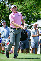 Brandt Snedeker (USA) watches his tee shot on 7 during round 2 of the Dean &amp; Deluca Invitational, at The Colonial, Ft. Worth, Texas, USA. 5/26/2017.<br /> Picture: Golffile | Ken Murray<br /> <br /> <br /> All photo usage must carry mandatory copyright credit (&copy; Golffile | Ken Murray)