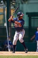 Atlanta Braves Ray-Patrick Didder (14) during an instructional league game against the Toronto Blue Jays on September 30, 2015 at the ESPN Wide World of Sports Complex in Orlando, Florida.  (Mike Janes/Four Seam Images)