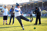 A general view of the half-time kicking competition. Aviva Premiership match, between Bath Rugby and Sale Sharks on February 24, 2018 at the Recreation Ground in Bath, England. Photo by: Patrick Khachfe / Onside Images