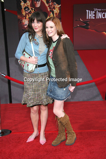 Mary Elizabeth Winstead &amp; Danielle Panabaker<br />&quot;The Incredibles&quot; Film Premiere - Arrivals<br />El Capitan Theatre<br />Hollywood, CA, USA<br />Sunday, October 24, 2004<br />Photo By Celebrityvibe.com/Photovibe.com, <br />New York, USA, Phone 212 410 5354, <br />email: sales@celebrityvibe.com