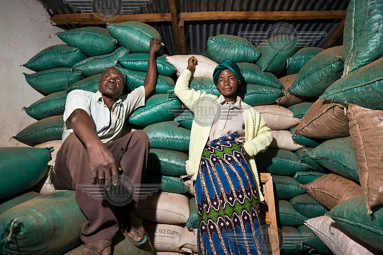 Justin and Agnes Topola began farming in Nagoli village in 1981. They have experienced the ups and downs in the agricultural sector in Malawi, and it is due to Justin's furniture business that they have managed to make ends meet. Agnes and her husband are members of a community based agricultural organisation, which is supported by ActionAid.